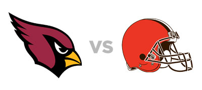 Arizona Cardinals vs Cleveland Browns