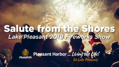Salute from the Shores: Lake Pleasant 2019 Fireworks Show